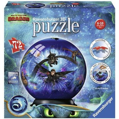 How to train your Dragon - 3D Puzzel (72)