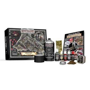 Gamemaster: Ruins & Cliffs Terrain Kit (The Army Painter)