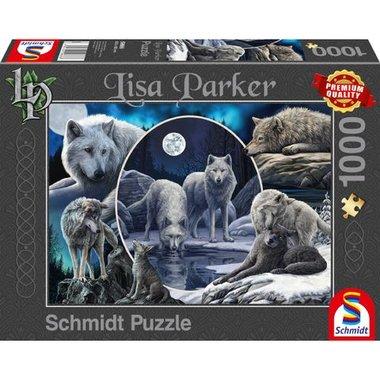 Prachtige Wolven (Lisa Parker) - Puzzel (1000)