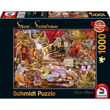 Music Mania (Steve Sundram) - Puzzel (1000)