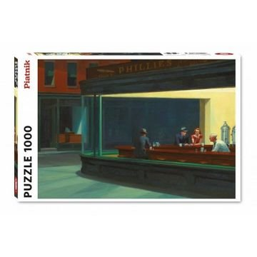 Nighthawks, Edward Hopper - Puzzel (1000)
