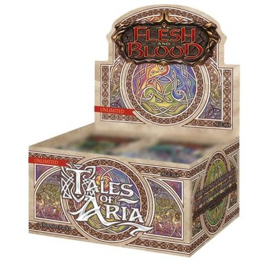 Flesh and Blood: Tales of Aria (Boosterbox) [UNLIMITED EDITION]