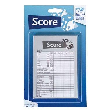 Scoreblok Dobbelspel (50 vel)