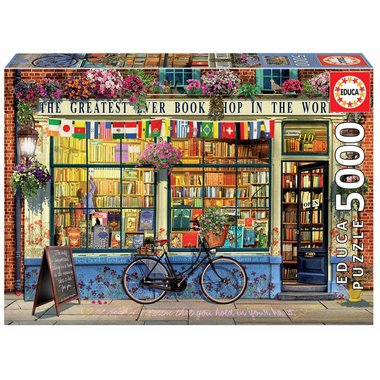 Greatest Bookshop in the World - Puzzle (5000)