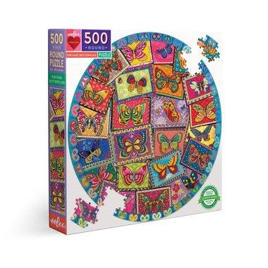 Vintage Butterflies - Puzzle (500)