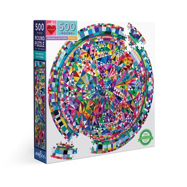 Triangle Pattern - Puzzle (500)