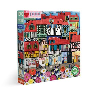 Whimsical Village - Puzzle (1000)