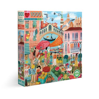 Venice Open Market - Puzzle (1000)
