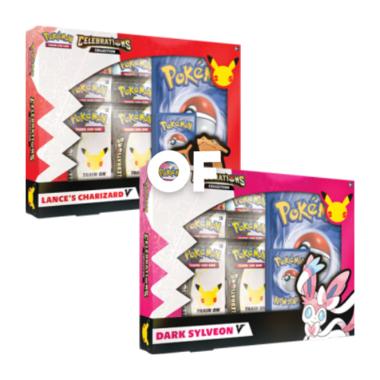 Pokémon: Celebrations - Lance's Charizard V/Dark Sylveon V