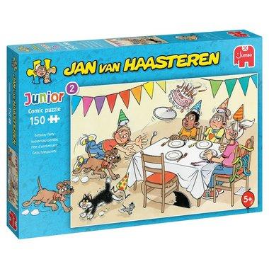 Verjaardagspartijtje - Jan van Haasteren Junior Puzzle (150)