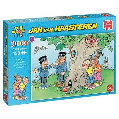 Verstoppertje - Jan van Haasteren Junior Puzzle (150)