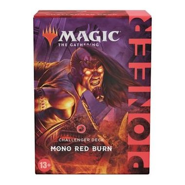 MTG: Pioneer Challenger Deck 2021 (Mono Red Burn)