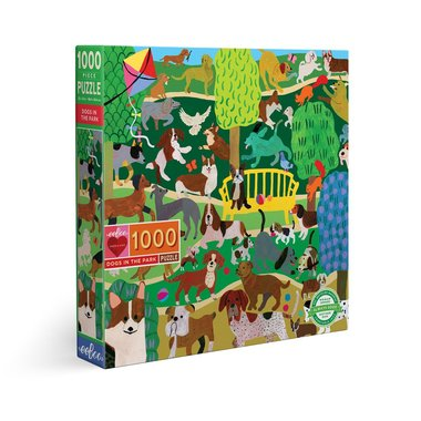 Dogs in the Park - Puzzel (1000)