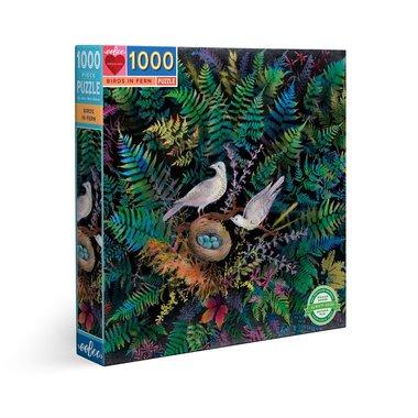 Birds in Fern - Puzzel (1000)