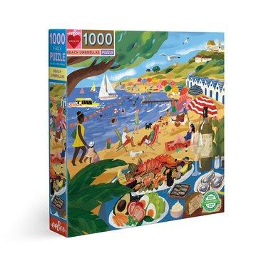 Beach Umbrellas - Puzzel (1000)