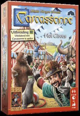 Carcassonne: Het Circus (Uitbreiding 10)