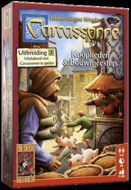 Carcassonne: Kooplieden en Bouwmeesters (Uitbreiding 2)