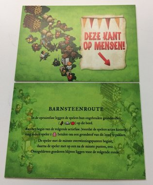 Promo Imperial Settlers: De Barnsteenroute