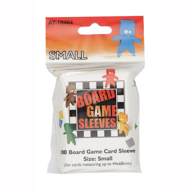 Board Game Sleeves: Small (44x68mm) - 100 stuks
