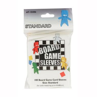 Board Game Sleeves: Standard (63x88mm) - 100 stuks