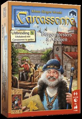 Carcassonne: Burgemeesters en Abdijen (Uitbreiding 5)
