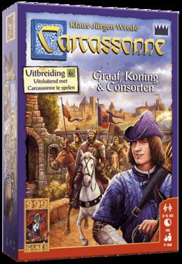 Carcassonne: Graaf, Koning en Consorten (Uitbreiding 6)