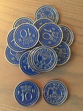 Scythe: Blue $10 Coins