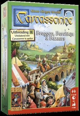Carcassonne: Bruggen, Burchten & Bazaars (Uitbreiding 8)