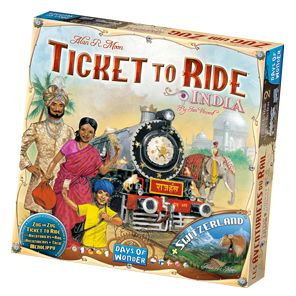 Ticket To Ride - Map Collection: India & Zwitserland
