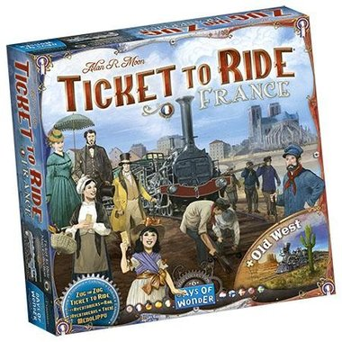 Ticket To Ride - Map Collection: Frankrijk + Old West