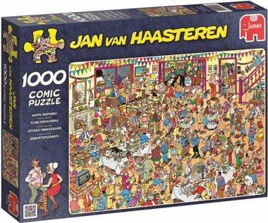 Vrolijke Verjaardag - Jan van Haasteren (1000)