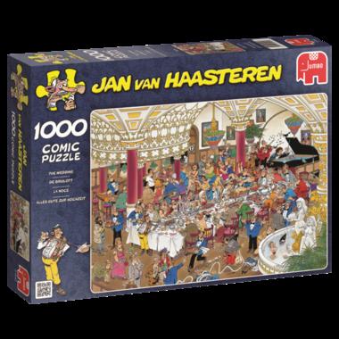 De Bruiloft - Jan van Haasteren (1000)
