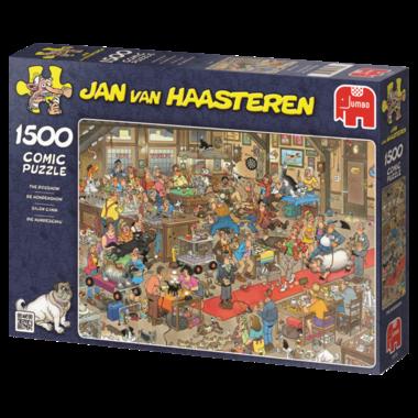 De Hondenshow - Jan van Haasteren (1500)