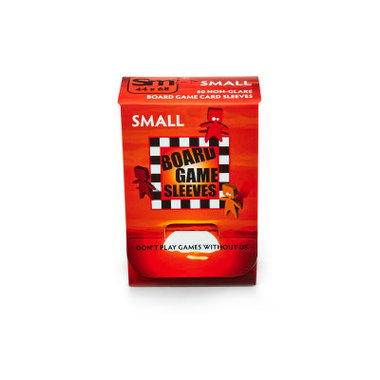 Board Game Sleeves (Non-Glare): Small (44x68mm) - 50 stuks