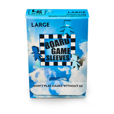 Board Game Sleeves (Non-Glare): Large (59x92mm) - 50 stuks