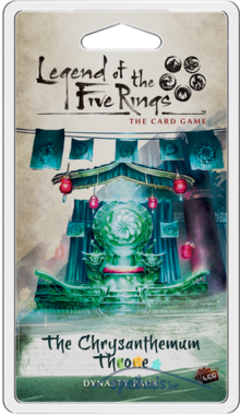 Legend of the Five Rings: The Card Game - The Chrysanthemum Throne