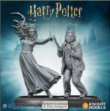 Harry Potter Miniatures Adventure Game: Bellatrix and Wormtail (Miniatures Pack)