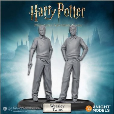Harry Potter Miniatures Adventure Game: Fred & George Weasley (Miniatures Pack)