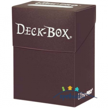 Ultra Pro Deck Box (Brown)