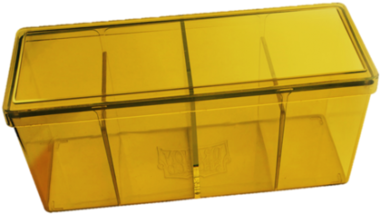 Four Compartment Box (Yellow)