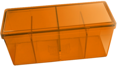 Four Compartment Box (Orange)