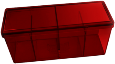 Four Compartment Box (Red)