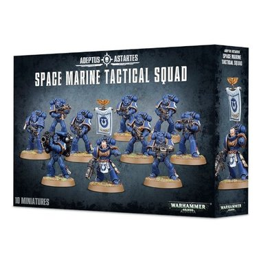 Warhammer 40,000 - Space Marine Tactical Squad