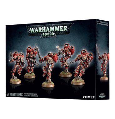 Warhammer 40,000 - Chaos Space Marine Raptors