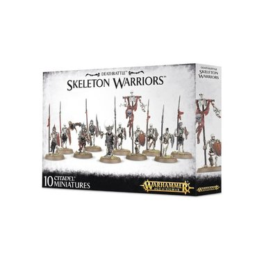 Warhammer: Age of Sigmar - Skeleton Warriors