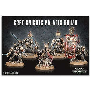 Warhammer 40,000 - Grey Knights Paladin Squad