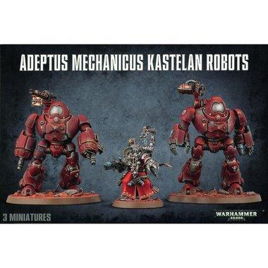 Warhammer 40,000 - Adeptus Mechanicus Kastelan Robots