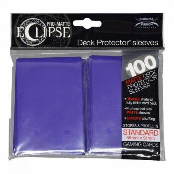 Ultra Pro Eclipse PRO-Matte Sleeves: Standaard Royal Purple (66x91mm) - 100 stuks