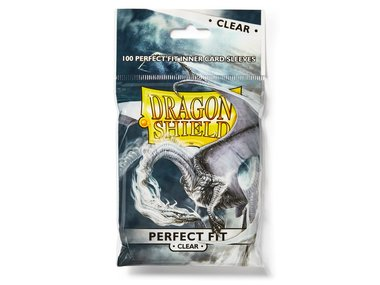 Dragon Shield Card Sleeves: Perfect Fit Inner Card Sleeves (63x88mm) - 100 stuks