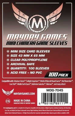 Mayday Card Sleeves: Mini Chimera USA (43x65mm) - 100 stuks